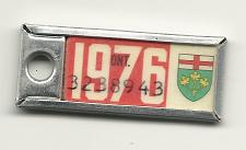Buy 1976 License Plate War Amps Key Tag Ontario 3238943 Key Fob Vintage