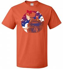 Buy A Young Witches Journey Unisex T-Shirt Pop Culture Graphic Tee (3XL/Burnt Orange) Hum