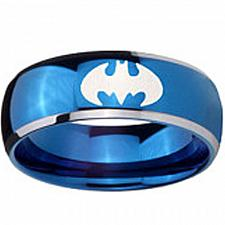 Buy coi Jewelry Tungsten Carbide Batman Wedding Band Ring