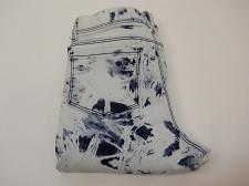 Buy Jordache Girls Crop Jegging Size XL 14-16 Tie Dye Wash Print Cuffed Legs