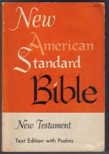 Buy New American Standard Bible New Testament : Text Psalms :: FREE Shipping