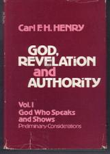 Buy GOD, REVELATION & AUTHORITY : Carl Henry : 2 HBs w/ DJs