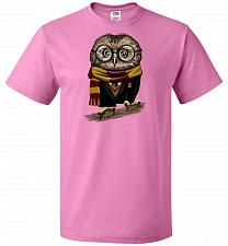 Buy Owly Potter Unisex T-Shirt Pop Culture Graphic Tee (M/Azalea) Humor Funny Nerdy Geeky