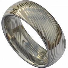 Buy coi Jewelry Titanium Damascus Wedding Band Ring