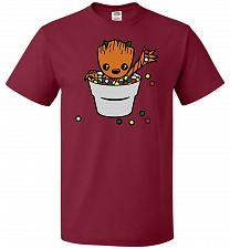 Buy A Pot Full Of Candies Unisex T-Shirt Pop Culture Graphic Tee (6XL/Cardinal) Humor Fun