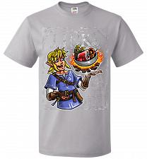 Buy Chef Link Cooking Lights Adult Unisex T-Shirt Pop Culture Graphic Tee (L/Silver) Humo