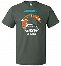 Buy The Neighbors Journey Unisex T-Shirt Pop Culture Graphic Tee (L/Forest Green) Humor F