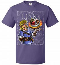 Buy Chef Link Cooking Lights Adult Unisex T-Shirt Pop Culture Graphic Tee (4XL/Purple) Hu
