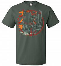 Buy Path Of Destruction Unisex T-Shirt Pop Culture Graphic Tee (L/Forest Green) Humor Fun