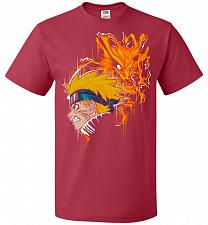 Buy Demon Fox Unisex T-Shirt Pop Culture Graphic Tee (2XL/True Red) Humor Funny Nerdy Gee
