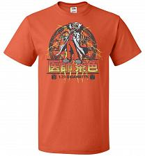Buy Back To Japan Unisex T-Shirt Pop Culture Graphic Tee (3XL/Burnt Orange) Humor Funny N
