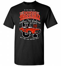 Buy Dukes of Hazzard General Lee Unisex T-Shirt Pop Culture Graphic Tee (3XL/Black) Humor