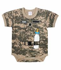 Buy One Piece Soldier Private Camo Army Military Infant Bodysuit