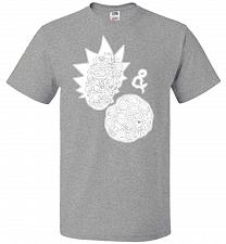 Buy Rick N Morty Unisex T-Shirt Pop Culture Graphic Tee (3XL/Athletic Heather) Humor Funn