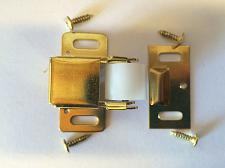 Buy NEW LOT of 15 BRASS Jumbo Roller Catch Latch Cabinet Closure Hardware 403210 US3