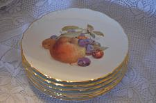 Buy 1950s Bavaria Schumann Arzberg Germany Nuts & Fruit Plates Lot of 6