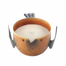Buy *17665U - Peach & Grapefruit Iron Birdie Scented Soy Blended Wax Candle
