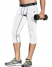 Buy Champion Gear Men's Compression 3/4 Tights #80138T with vapor technology