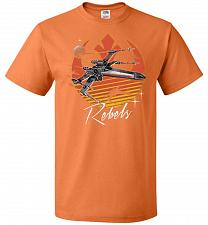 Buy Retro Rebels Unisex T-Shirt Pop Culture Graphic Tee (3XL/Tennessee Orange) Humor Funn