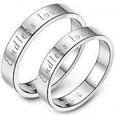 Buy coi Jewelry Tungsten Carbide Endless Love Wedding Band Ring