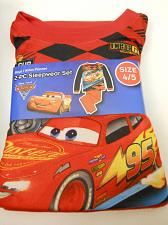 Buy Pajama Set DISNEY PIXAR CARS Boys 2PC Flannel Size 4/5 Crew Neck Long Sleeves