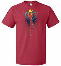 Buy Shadow Of The Hearts Unisex T-Shirt Pop Culture Graphic Tee (XL/True Red) Humor Funny