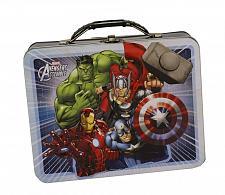 Buy :10338U - Avengers Assemble White Tin Lunch Box