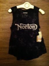Buy Norton Tank Top Black Batik Women`s L