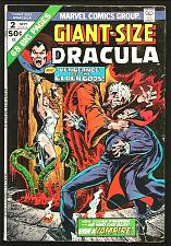 Buy GIANT-SIZE DRACULA #2 Marvel Comics Chris CLAREMONT Don Heck 1974 -- 68 pages