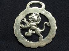 Buy Horse Brass Decorative Tack Bridle Lion Antique Vintage
