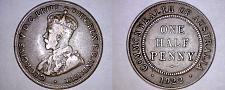Buy 1922 Australian Half (1/2) Penny World Coin - Australia