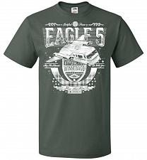 Buy Eagle 5 Hyperactive Winnebago Unisex T-Shirt Pop Culture Graphic Tee (XL/Forest Green