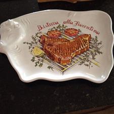 Buy ceramic serving platter bistecca alla florentina