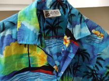 Buy Mens Aloha Republic Hawaiian Camp Shirt Size S 100% Cotton Made in Hawaii EUC
