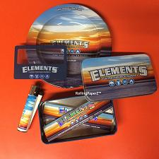 Buy ELEMENTS KING SIZE BUNDLE - PAPERS, ASTRAY, BOX, MAGNIFIER CARD, CLIPPER LIGHTER