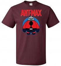 Buy Ant-Max Unisex T-Shirt Pop Culture Graphic Tee (2XL/Maroon) Humor Funny Nerdy Geeky S