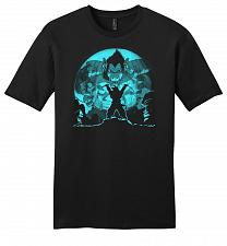Buy Saiyan Sized Secret Youth Unisex T-Shirt Pop Culture Graphic Tee (M/Black) Humor Funn