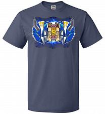 Buy Blue Ranger Unisex T-Shirt Pop Culture Graphic Tee (S/Denim) Humor Funny Nerdy Geeky