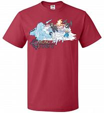 Buy Chrono Throne Unisex T-Shirt Pop Culture Graphic Tee (5XL/True Red) Humor Funny Nerdy