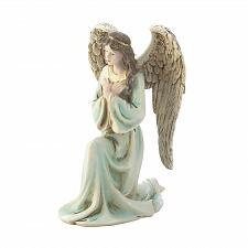 Buy *18458U - Graceful Kneeling Angel Figurine Statue