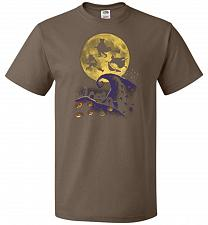 Buy Hocus Pocus Halloween Unisex T-Shirt Pop Culture Graphic Tee (XL/Chocolate) Humor Fun