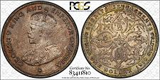 Buy 1919 Straits Settlements 1 Dollar World Silver Coin PCGS AU Details - George V