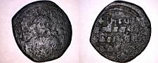 Buy 1023-1028AD Byzantine Class A3 Follis - Basil II & Constantine VIII - AE29 11.5g