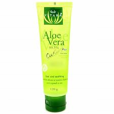 Buy Vitara Aloe Vera Cool Plus Gel for Facial Sunburn 120 grams