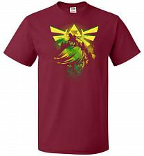 Buy Hero of Time Unisex T-Shirt Pop Culture Graphic Tee (M/Cardinal) Humor Funny Nerdy Ge
