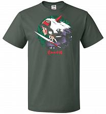 Buy Guardians of the Forest Unisex T-Shirt Pop Culture Graphic Tee (5XL/Forest Green) Hum