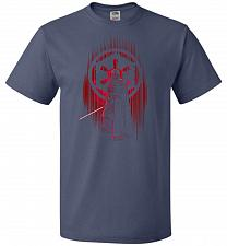 Buy Shadow Of The Empire Unisex T-Shirt Pop Culture Graphic Tee (6XL/Denim) Humor Funny N