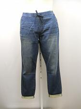 Buy Womens Jogger Jeans SIZE 18 Dark Wash Cuffed Inseam 28 SIGNATURE LEVI STRAUSS