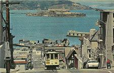 Buy Cable Car Alcatraz San Francisco Bay California Postcard