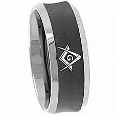 Buy coi Jewelry Titanium Masonic Wedding Band Ring